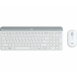 Bežični desktop komplet MK470 Slim Wireless bijela