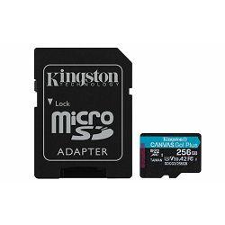 Memorija SD MICRO 256GB Class 10 UHS-I U3 + 1