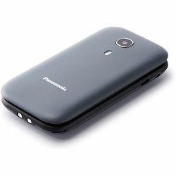 Mobitel Panasonic KX-TU400EXG sivi, preklopni, SOS tipka, GSM