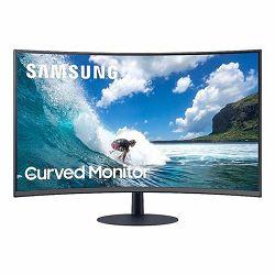 Monitor Samsung 24 SM LC24T550FDRXEN Curved VA HDMI