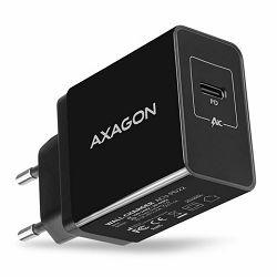 AXAGON ACU-PQ22 zidni punjač 1x QC 3.0 Type C, 22W, crni