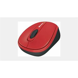 MS MS FPP Wireless Mobile Mouse 3500 Red, GMF-00293