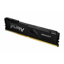 MEM DDR4 8GB 3200MHz Fury Beast Kingston