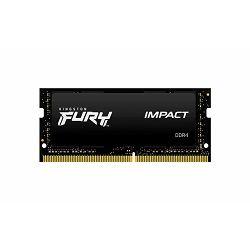 MEM SOD DDR4 8GB 2666MHz Fury IMPACT KIN