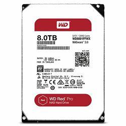 Tvrdi Disk WD Red Pro 8TB SATA 3 WD8001FFWX