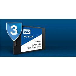 SSD WD 250GB Blue 3D NAND SATA 2.5