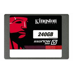 SSD disk Kingston 240GB, SSDNow V300 SATA 3, bulk