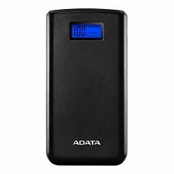 Adata Eksterna baterija, S20000D, 20.000mAh, Dual-USB, Crne