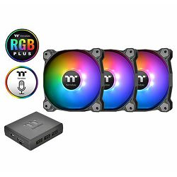 Hladnjak za kućište Thermaltake Pure Plus 12 RGB (3 komada +