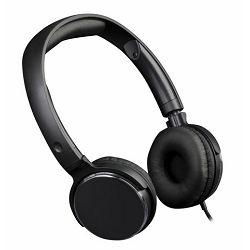 MS FEVER slušalice s mikrofonom, crne