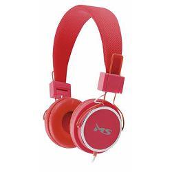 MS BEAT crvene slušalice s mikrofonom