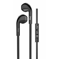 MS SHAKE crne in-ear slušalice s mikrofonom
