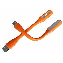 MS USB LED lampica narančasta