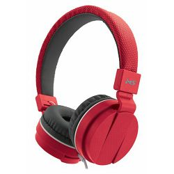 MS BEAT_2 crvene slušalice s mikrofonom
