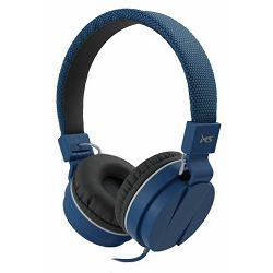 MS BEAT_2 plave slušalice s mikrofonom