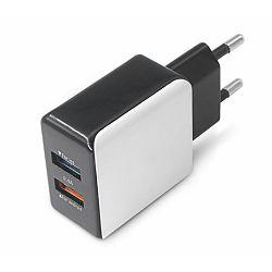 MS STREAM 2.4A dual USB zidni punjač