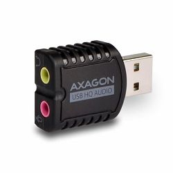 AXAGON ADA-17 USB2.0 - Stereo HQ Audio Mini Adapter 24bit 96