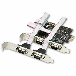 AXAGON PCEA-S4 PCI-Express Adapter 4x Serial Port