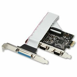 AXAGON PCEA-SP PCI-Express Adapter 2x Serial + 1x Parallel