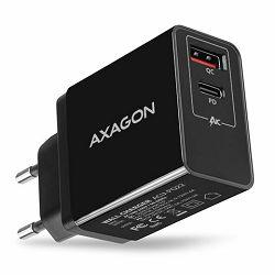 AXAGON ACU-PQ22 zidni punjač 1 x QC 3.0 i 1 x Type C, 22W, c