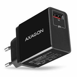 AXAGON ACU-QC19 zidni punjač Quick Charge 1xQC3.0, crni