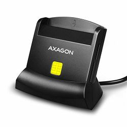Čitač kartica AXAGON CRE-SM1 USB Smart card reader