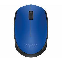 Miš bežični Logitech M171 plavi