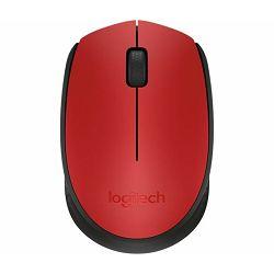 Miš bežični Logitech M171 crvenii