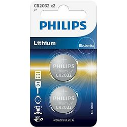 PHILIPS baterija CR2032P2/01B