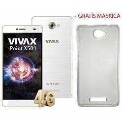 VIVAX Point X501 white+ gratis maskica