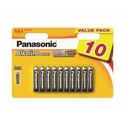 PANASONIC baterije LR03APB/10BW Alkaline Power