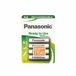 PANASONIC baterije HHR-3MVE/4BC, 1900mAh, punj. Ready to use