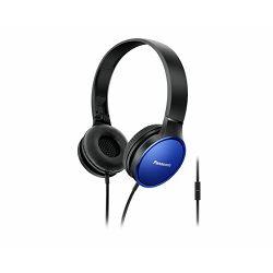 PANASONIC slušalice RP-HF300ME-A plave