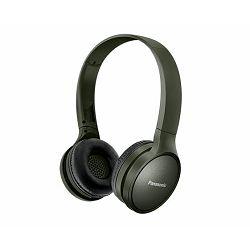 PANASONIC slušalice RP-HF410BE-G maslinasto zelena