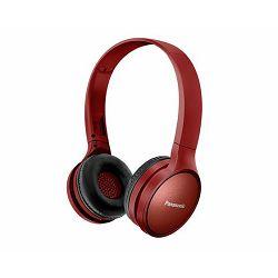 PANASONIC slušalice RP-HF410BE-R crvene