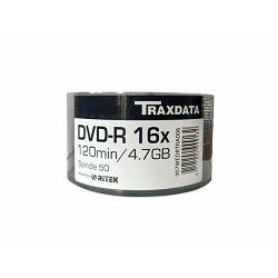 TRAXDATA OPTIČKI MEDIJ DVD TRX DVD-R 16X SP50 BRAND
