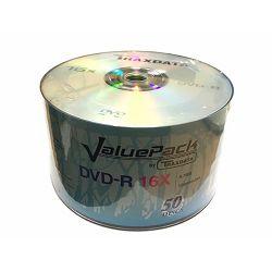 OPTIČKI MEDIJ TRAXDATA DVD-R 16X SPINDLE 50 VALUEPACK