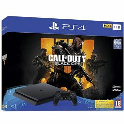 Igraća konzola SONY PlayStation 4 1TB F chassis + Call of Duty: Black Ops 4