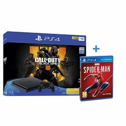 Igraća konzola SONY PlayStation 4 1TB F chassis + Call of Duty: Black Ops 4 + Spi