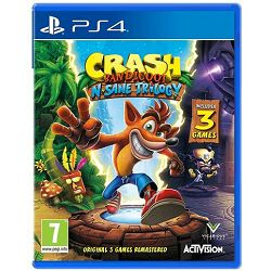 GAME PS4 igra Crash Bandicoot N. Sane Trilogy 2.0