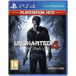 GAME PS4 igra Uncharted 4: A Thiefs End HITS