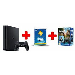 GAM SONY PS4 500GB F Chassis Black+DS+Fortnite VCH+ Plus Car