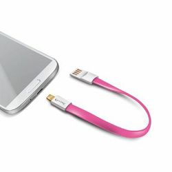Celly MicroUSB Magnetic Cable Pink_MSN, 3410018743