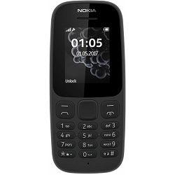Mobitel Nokia 105 Dual SIM (2017) Black