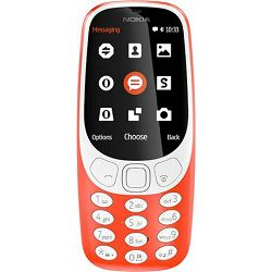Mobitel Nokia 3310 Single SIM Red