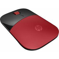 HP miš Z3700, bežični, crveni, V0L82AA