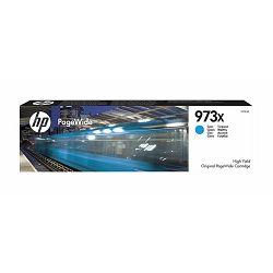 Tinta HP F6T81AE, No. HP 973X, Ink Cartridge, Cyan