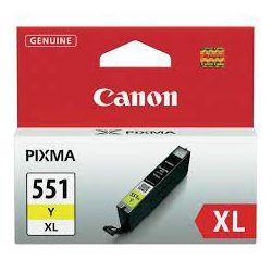 Tinta Canon CLI-551Y XL