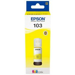 Tinta EPSON 103 yellow L3160/3151/1110