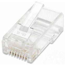 LAN konektor, RJ45 Cat.5e, UTP, pakiranje 100kom., za strand